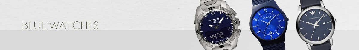 Mens Blue Watches