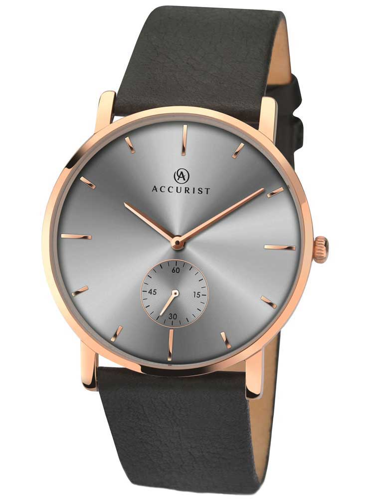 f466a298845 Buy sekonda mens rose gold plated leather strap date watch . Shop ...