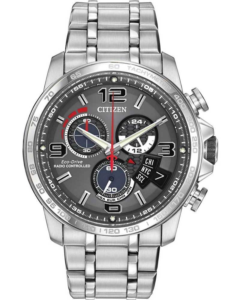 Citizen Mens Radio Controlled Alarm Watch BY010051H