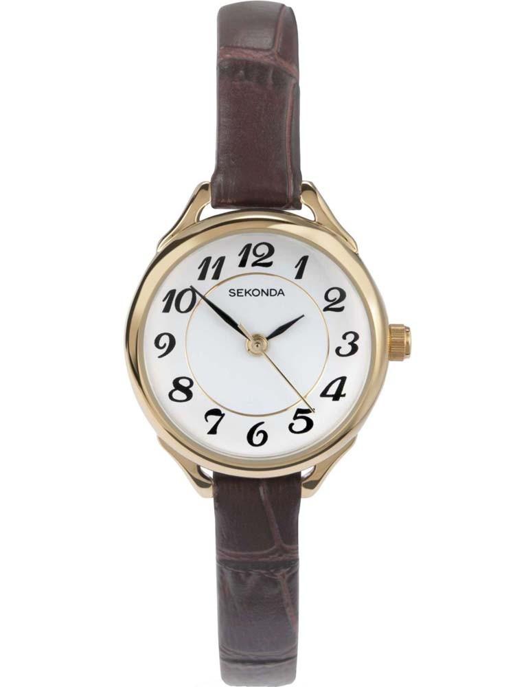 Sekonda Ladies Gold Strap Watch