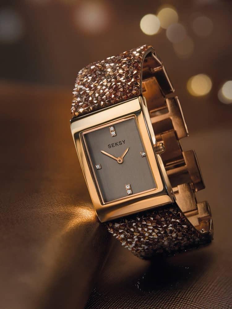 Sekonda Ladies Seksy Swarovski Crystal Bracelet Watch 2580