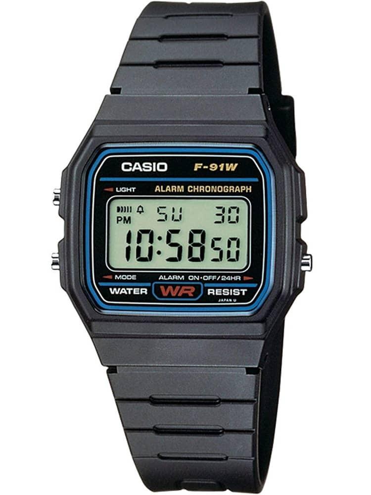 CASIO Collection Men Digital Black Plastic Strap Watch