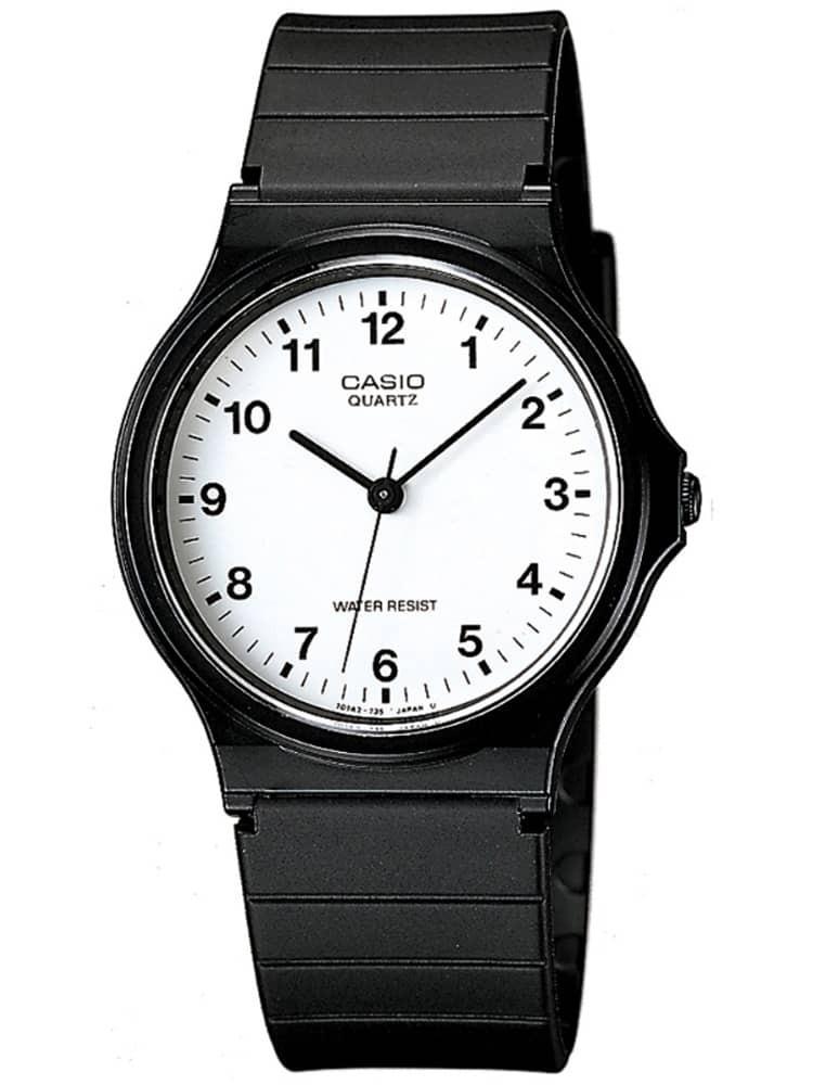 CASIO Collection Men Black Plastic Strap Watch