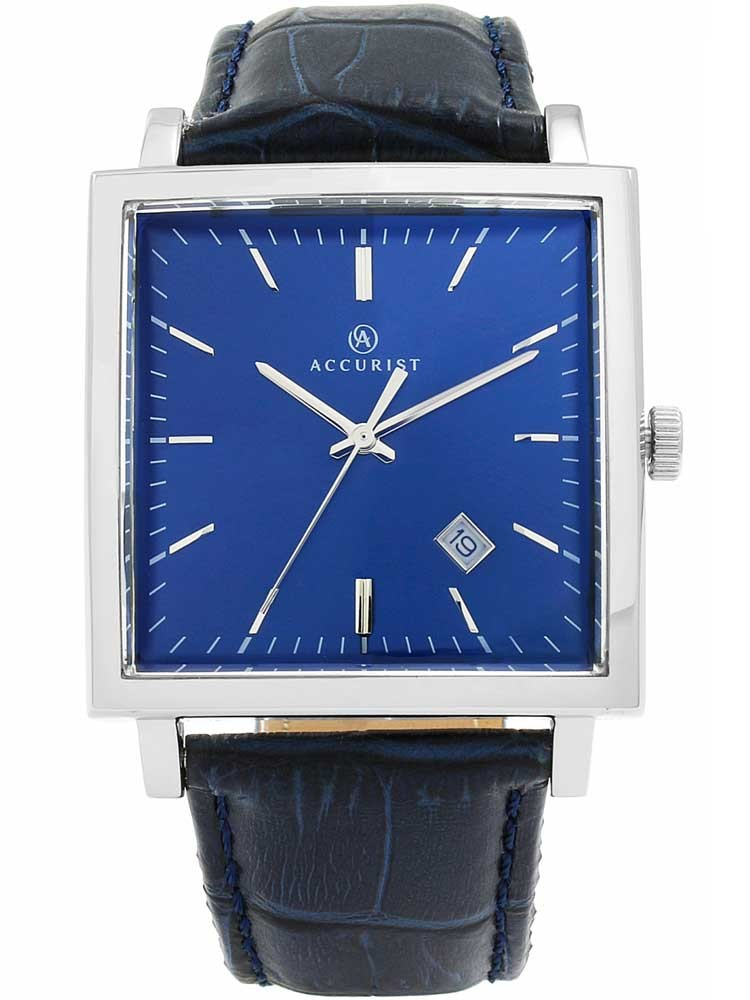 blue mens strap watch leather watches potenza com maserati feeldiamonds