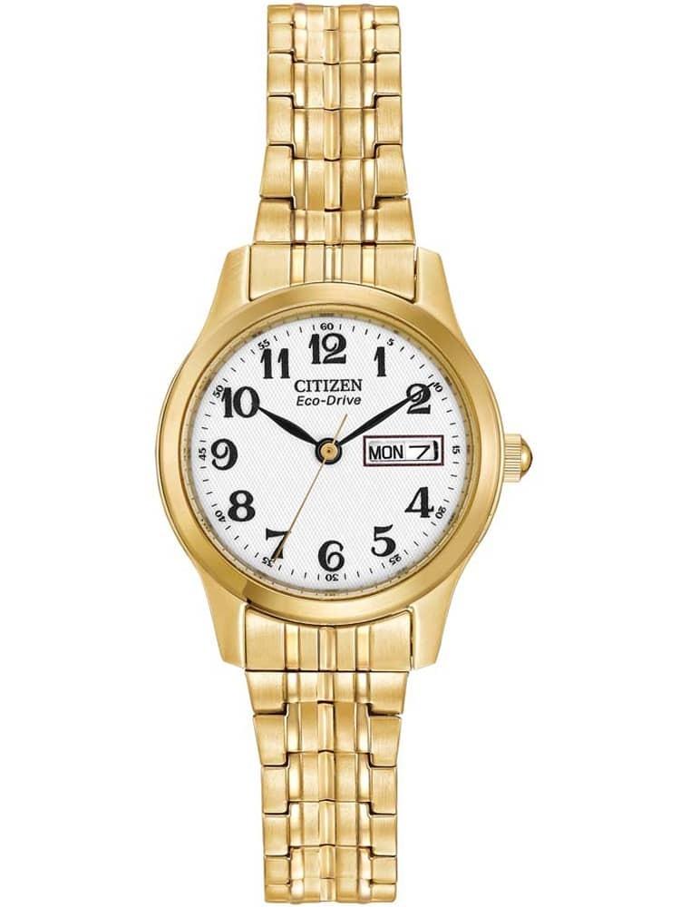 Citizen Ladies Corso Gold Tone Expandable Bracelet Watch