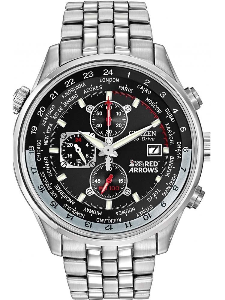 Citizen Mens Chronograph Red Arrows Bracelet Watch