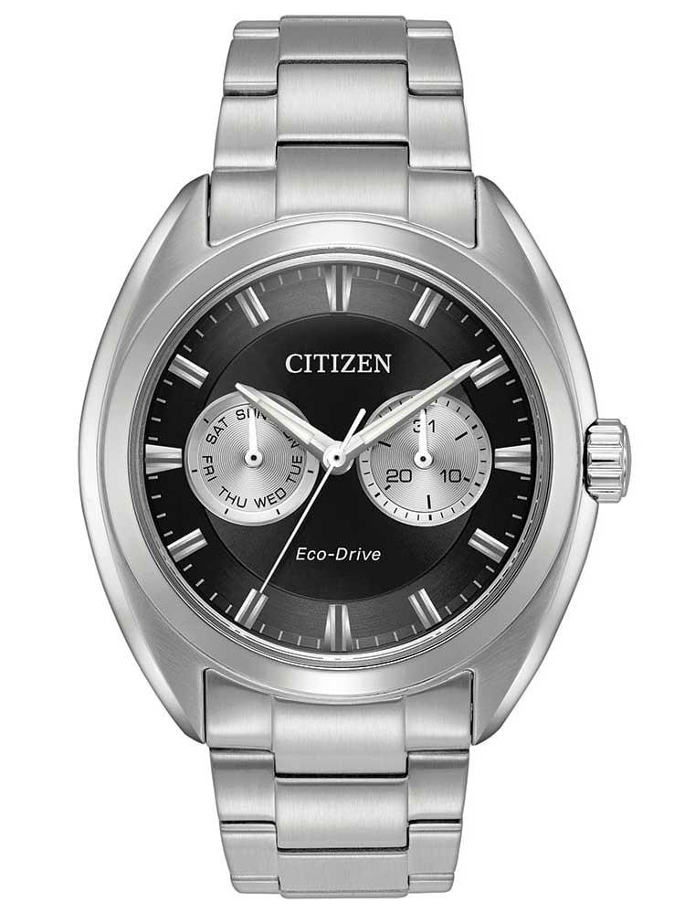 Citizens Of Beauty: Citizen Mens Paradex Eco-Drive Bracelet Watch BU4010-56E