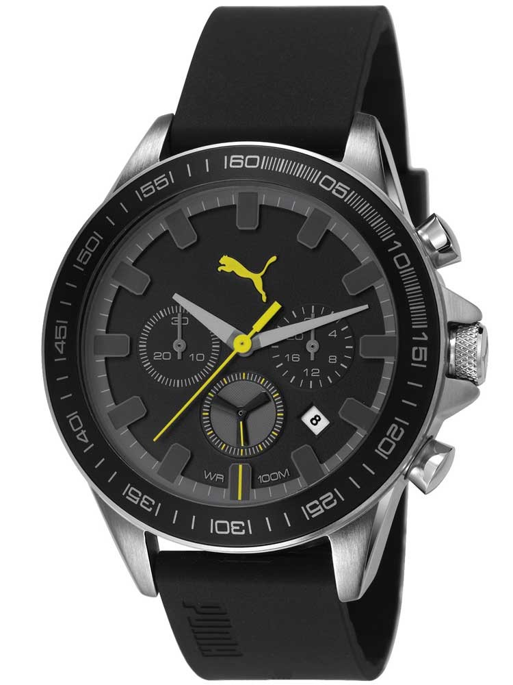 puma mens cyclone chronograph watch pu103621003 pre owned brands