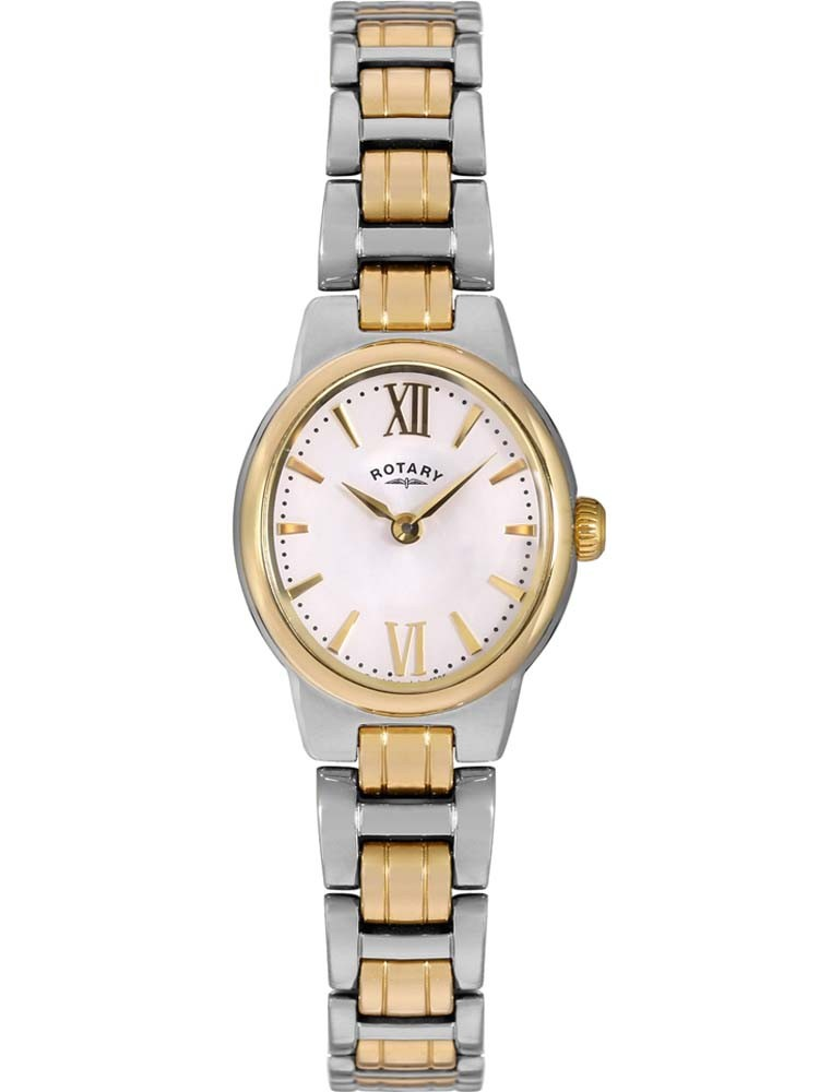 Rotary Ladies Olivie Two Tone Bracelet Watch