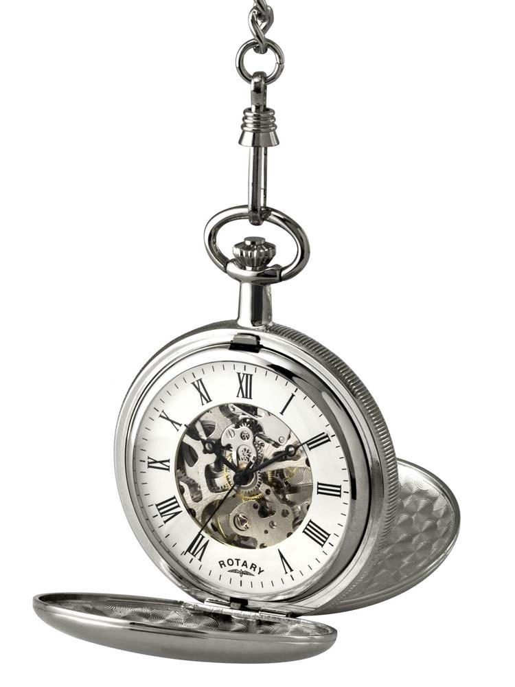 Rotary Mechanical Pocket Watch