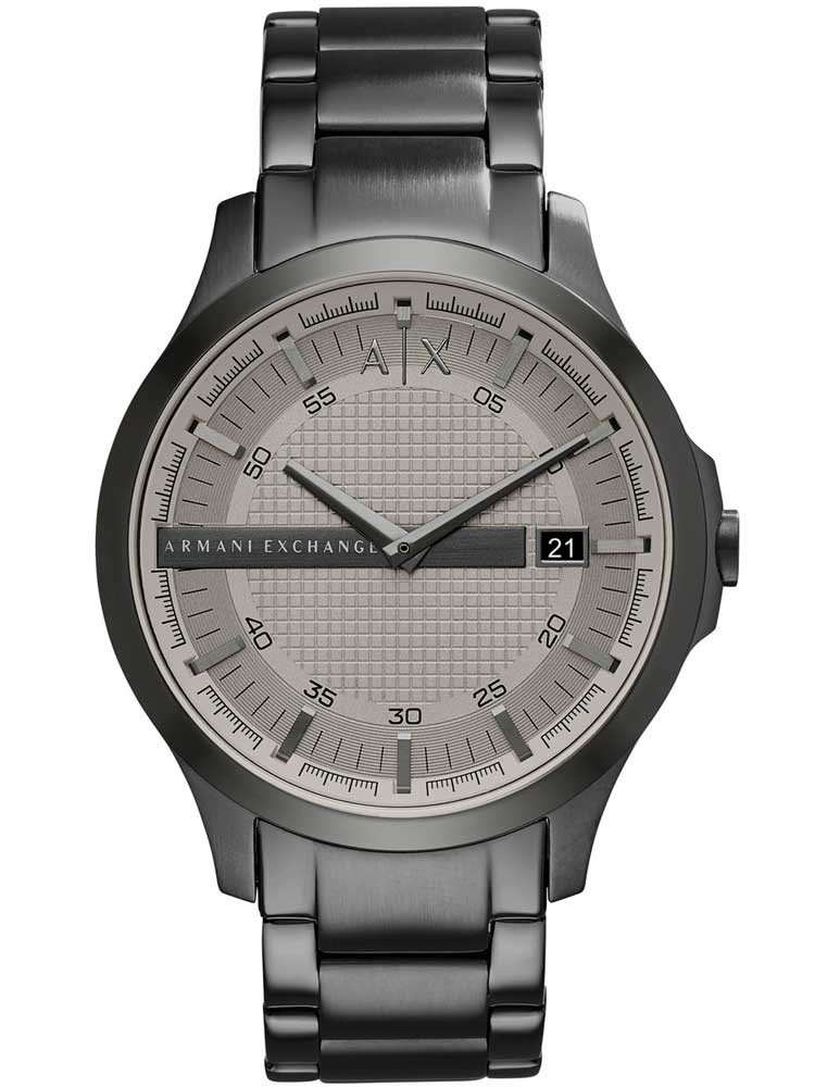 892f42818ec Armani ExchangeMens Grey Check Watch AX2194