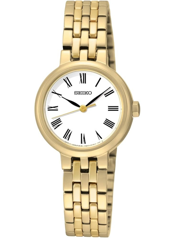 Seiko Ladies Discover More Gold Plated Bracelet Watch