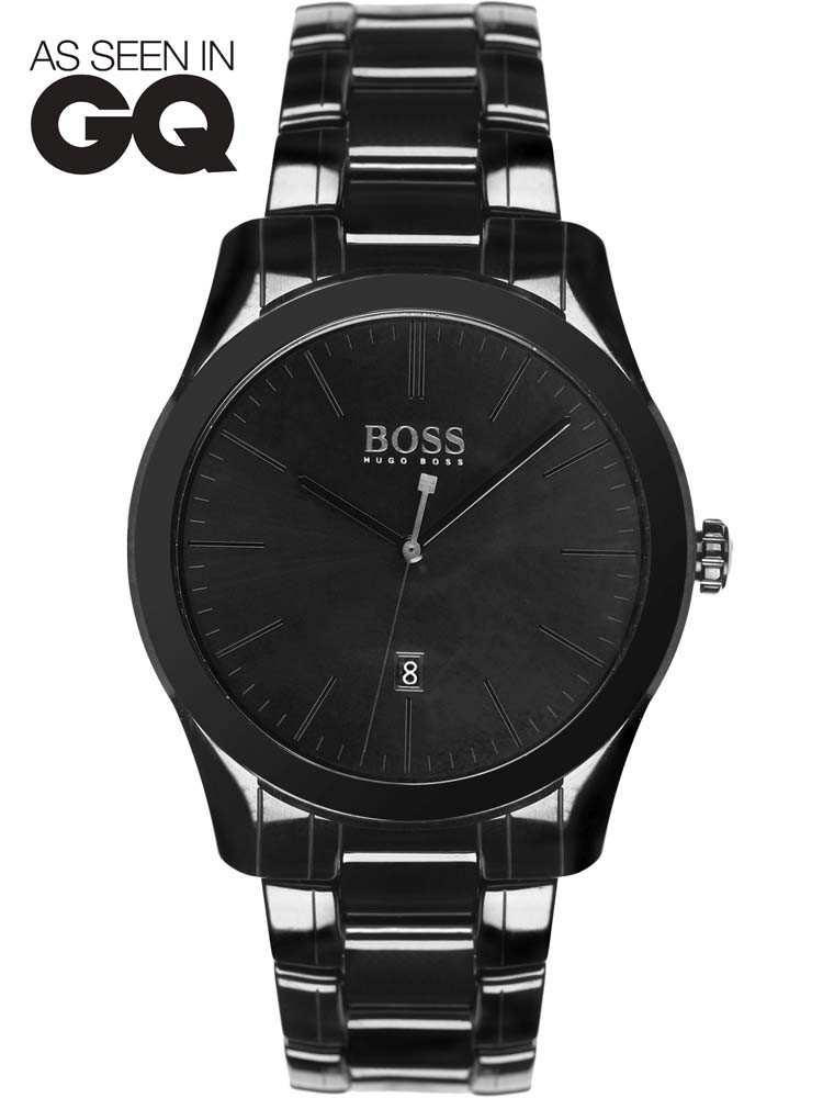 gq hugo watches boss watch mens packaging bracelet ceramic