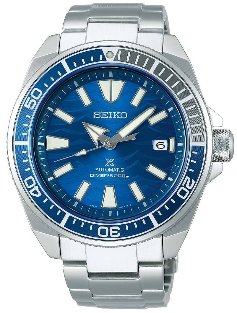 Seiko Mens Prospex Automatic Blue Dial Bracelet Watch