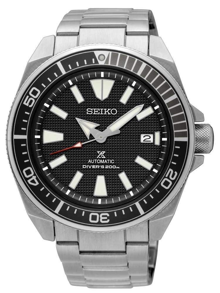 Seiko Mens Prospex Divers Automatic Black Bracelet Watch