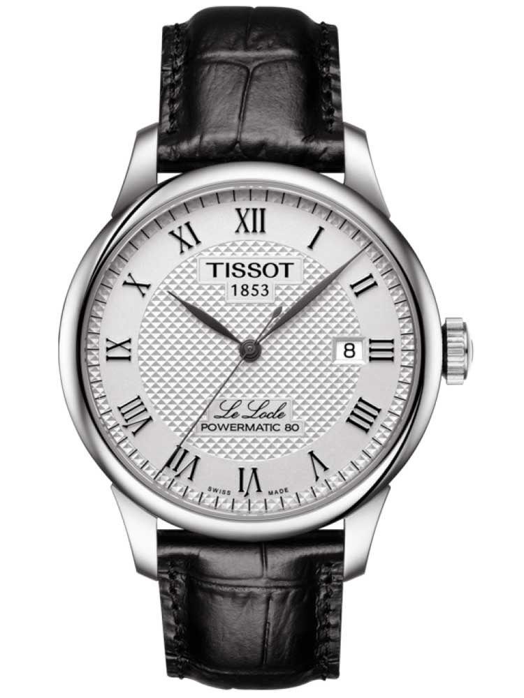 Tissot Mens T-Classic Le Locle Powermatic Strap Watch