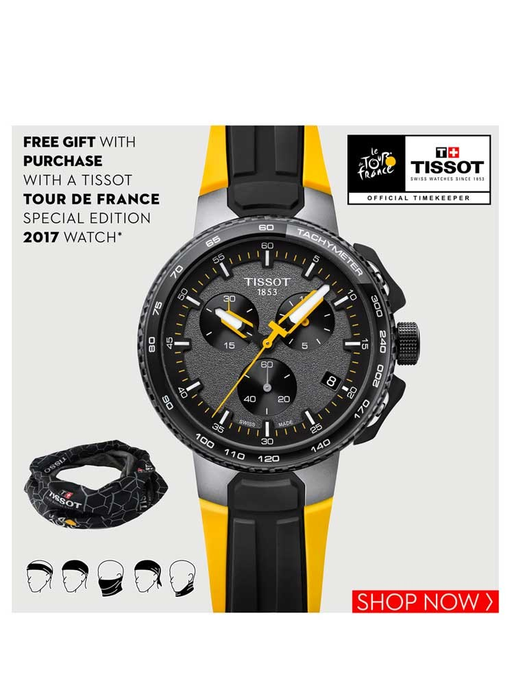 tissot mens t bike tour de france watch