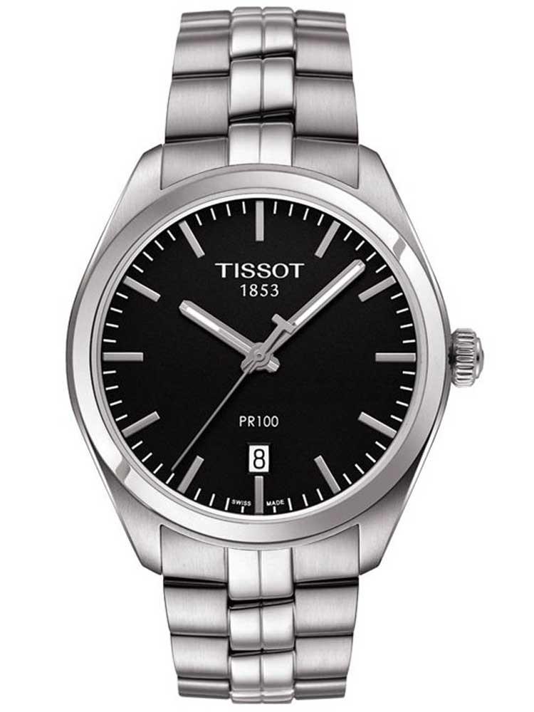 Tissot Mens T-Classic PR-100 Bracelet Watch