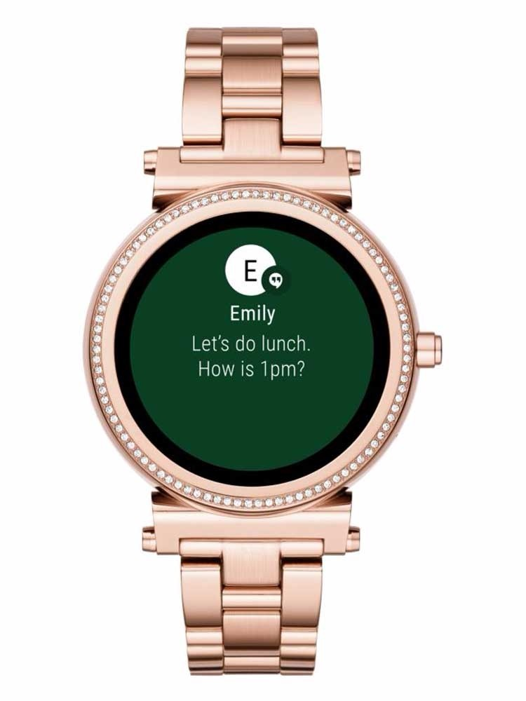 cdc6cae505eb Michael Kors Access Sofie Rose Gold Plated Smartwatch MKT5022