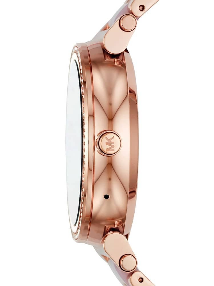 4595a8e13f6d Michael Kors Ladies Sofie Rose Gold Plated smartwatch MKT5041