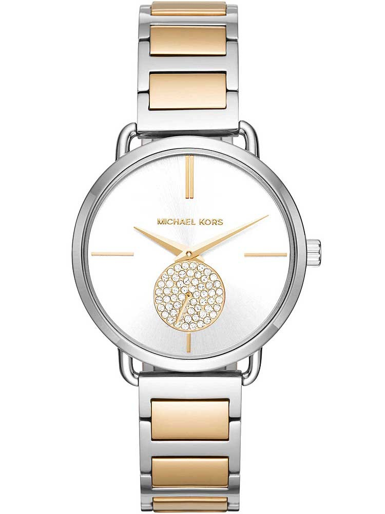 Michael Kors Ladies Portia Two Colour Bracelet Watch