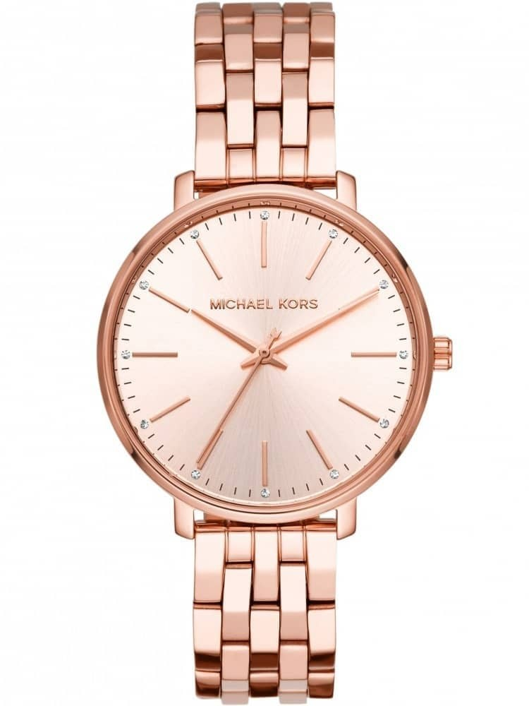 Michael Kors Pyper Rose Gold Plated Bracelet Watch