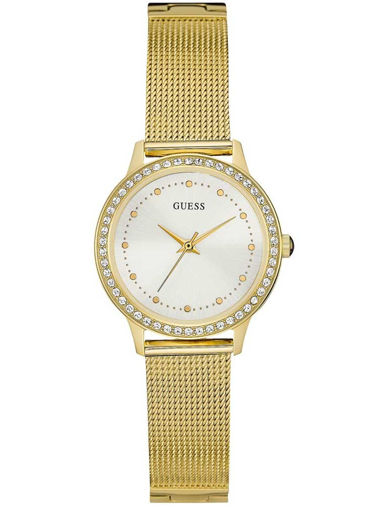 guess chelsea gold plated bracelet w0647l7