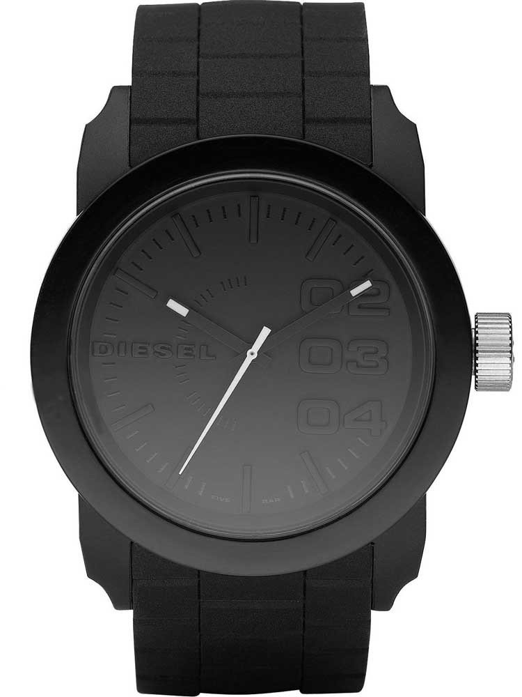 Diesel Mens Franchise Strap Watch