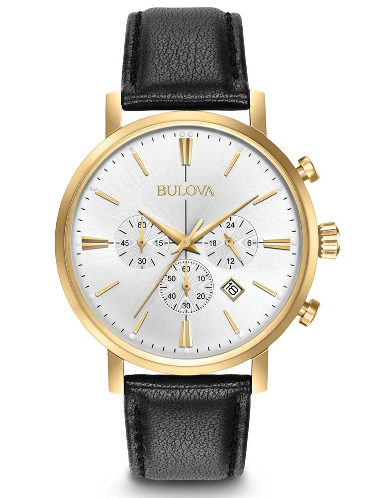 bulova mens classic gold plated 97b155