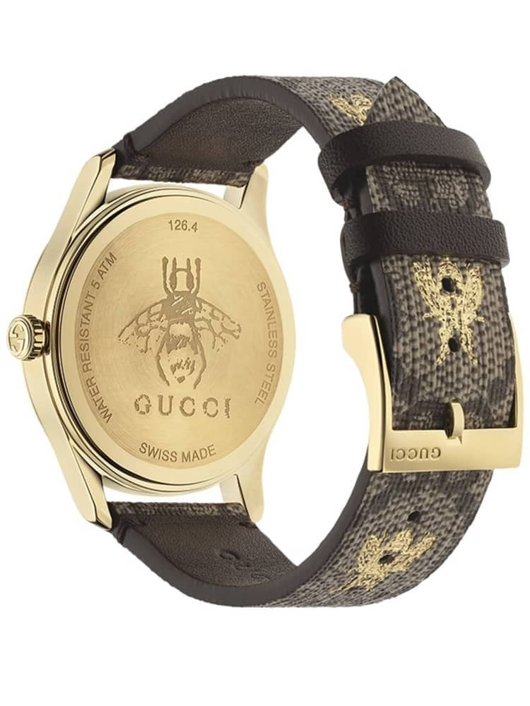 06989bc37b5 Gucci Ladies G-Timeless Gg Supreme Watch YA1264068