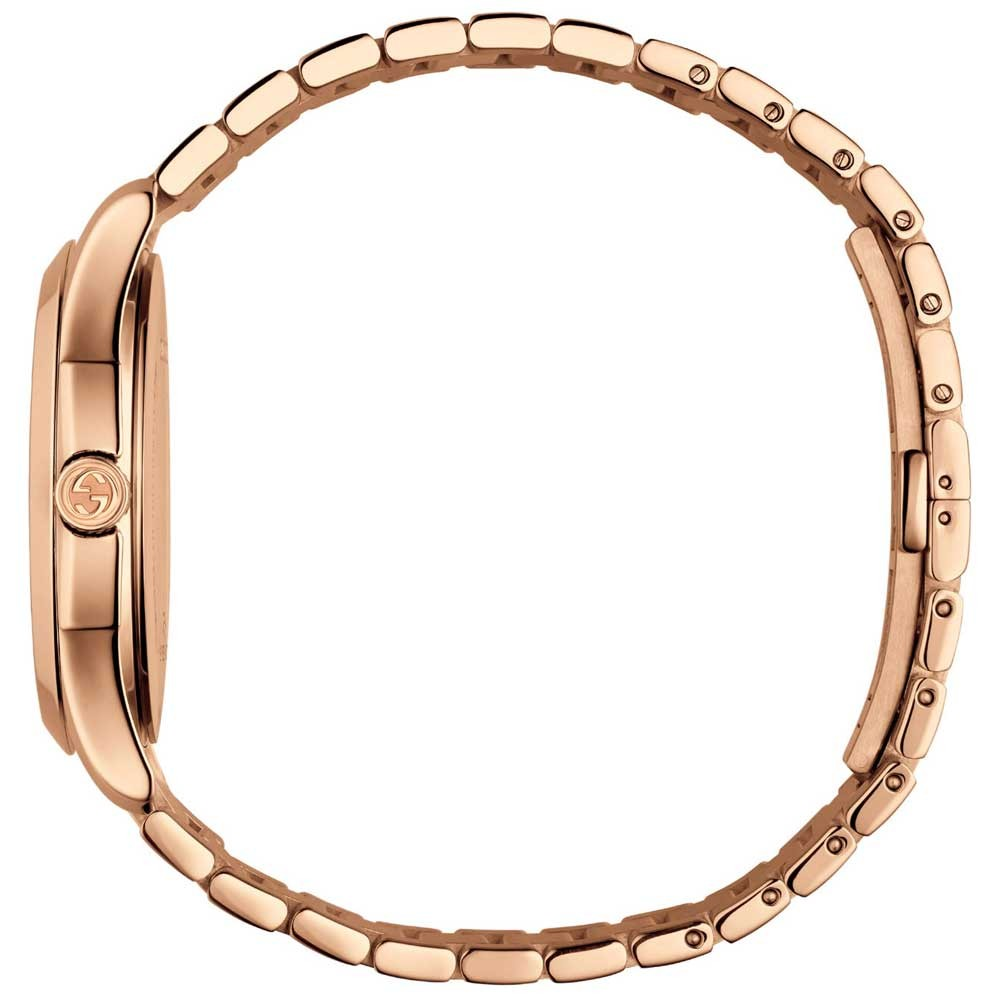 63a4f08cd21 Gucci Ladies Rose Gold Plated G Timeless 38mm Watch YA126482