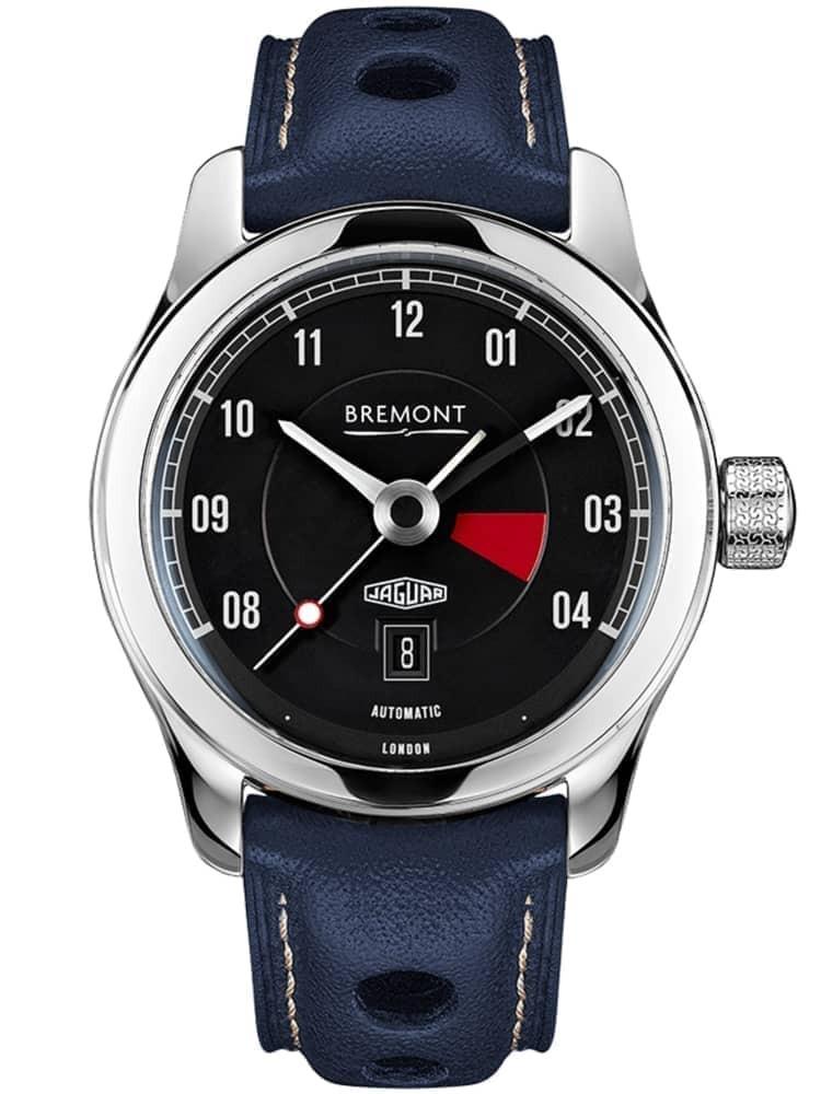 Bremont JAGUAR MKIII Black Dial Strap Watch
