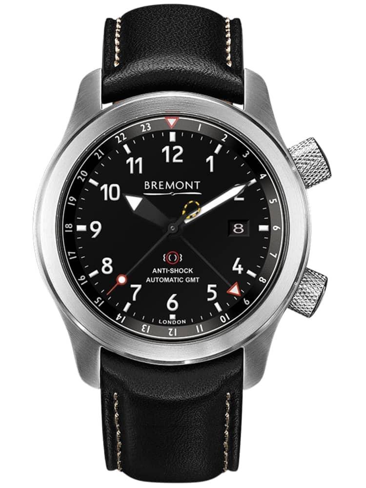 Bremont MARTIN-BAKER III Bronze Tone Black Dial Strap Watch
