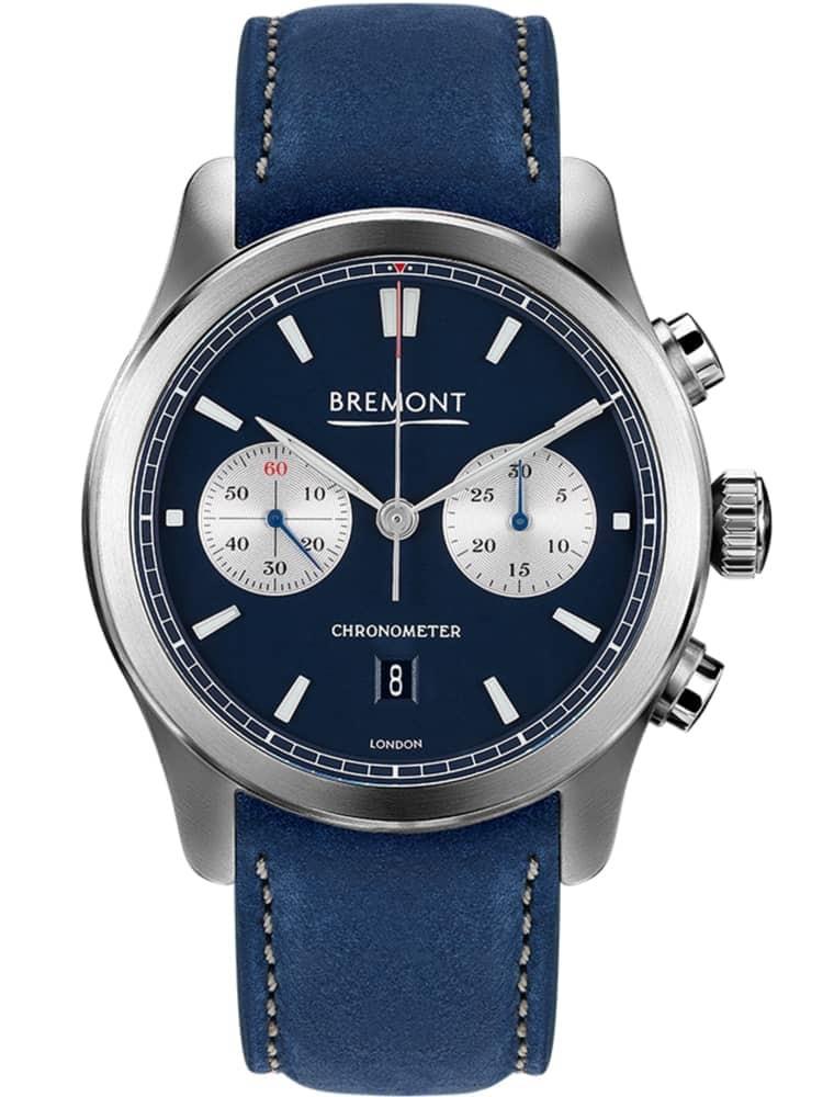 Bremont ALT1-C CLASSIC Blue Leather Strap Watch