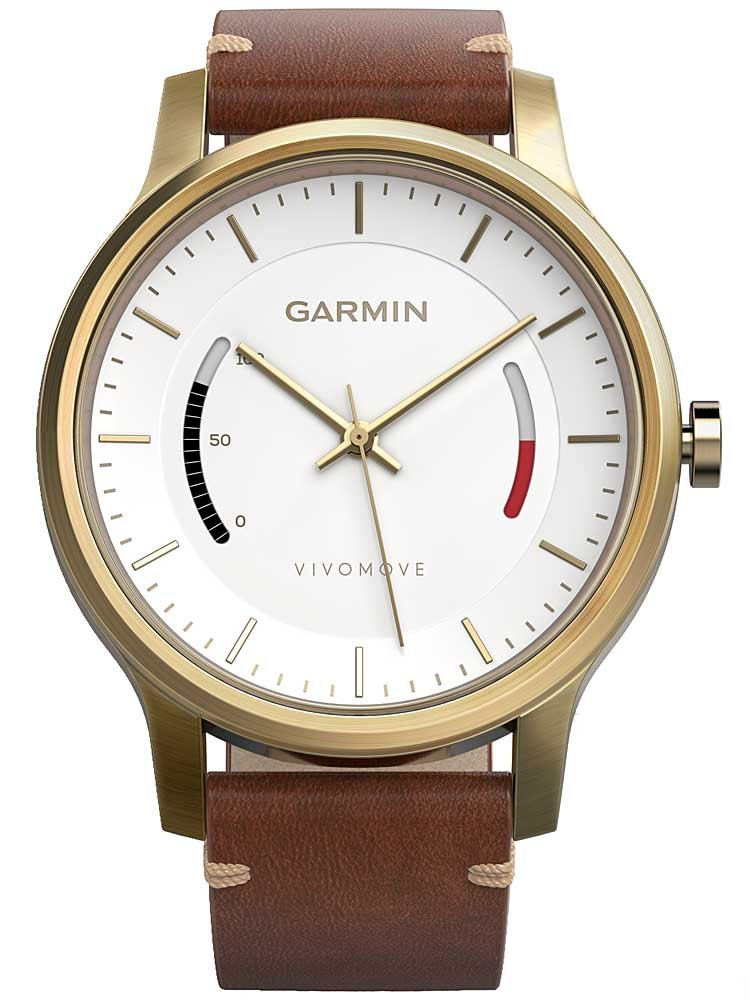 Garmin vivomove premium watch 010 01597 21 for Watches garmin