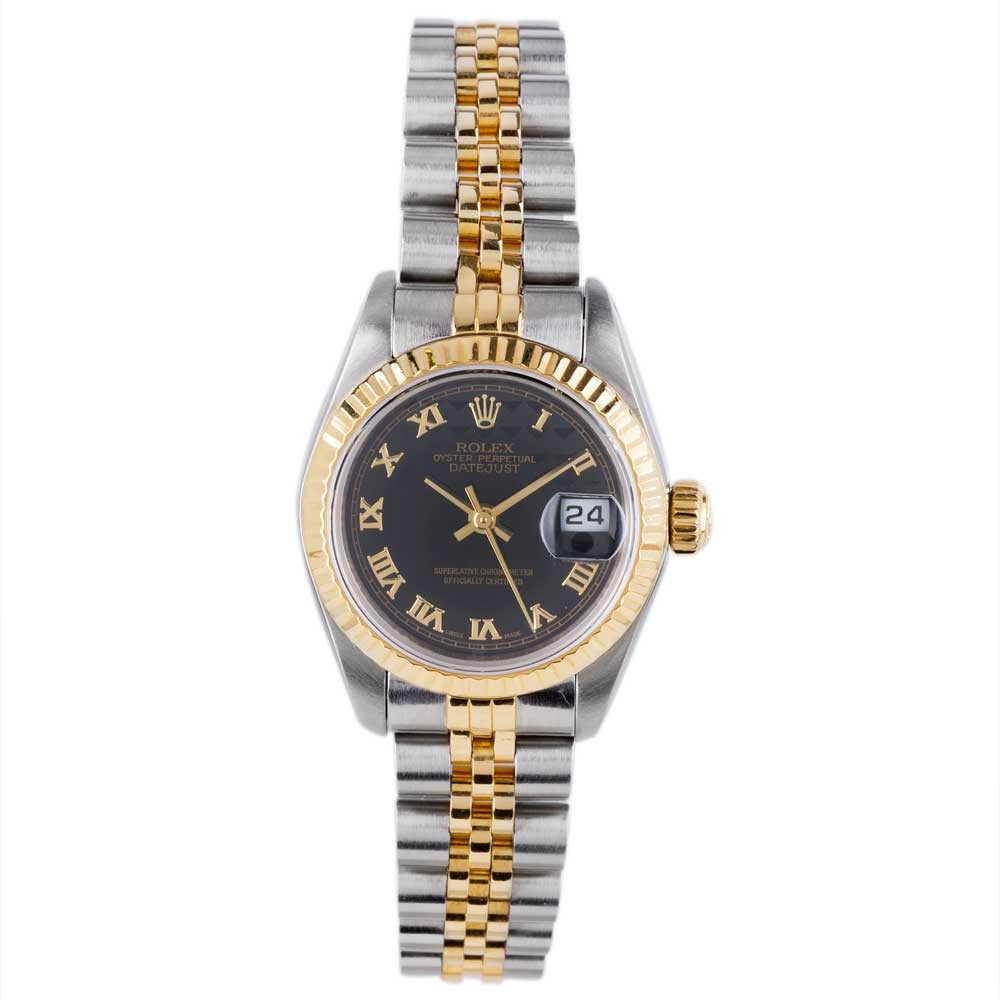 pre owned rolex oyster perpetual datjust 4181907