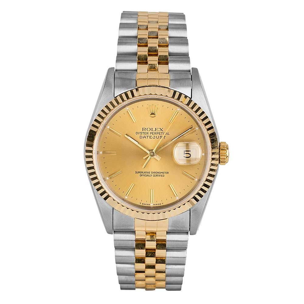 d44bfe4f1e6 Pre-Owned RolexRolex Mens Oyster Perpetual Datejust Watch 16233 - Year 1991