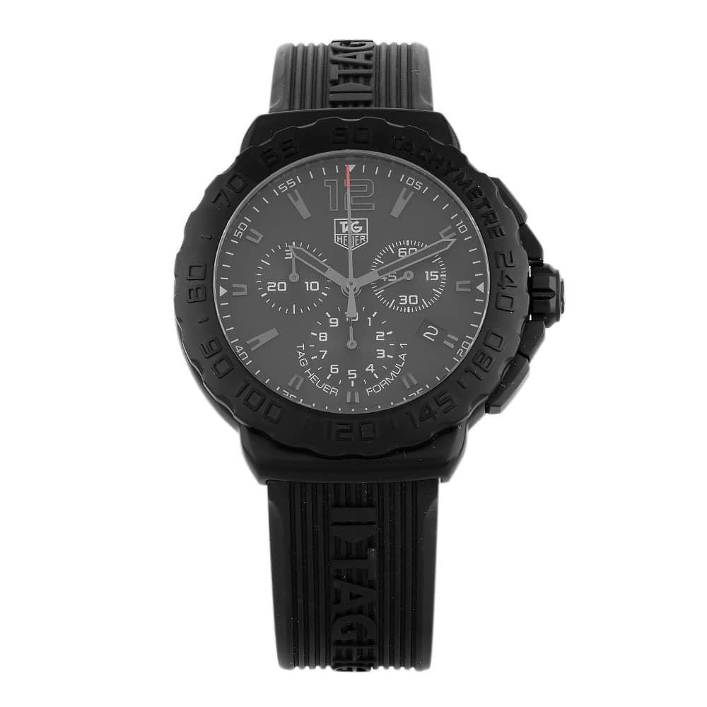 Pre-Owned TAG Heuer Formula 1 Black Strap Watch