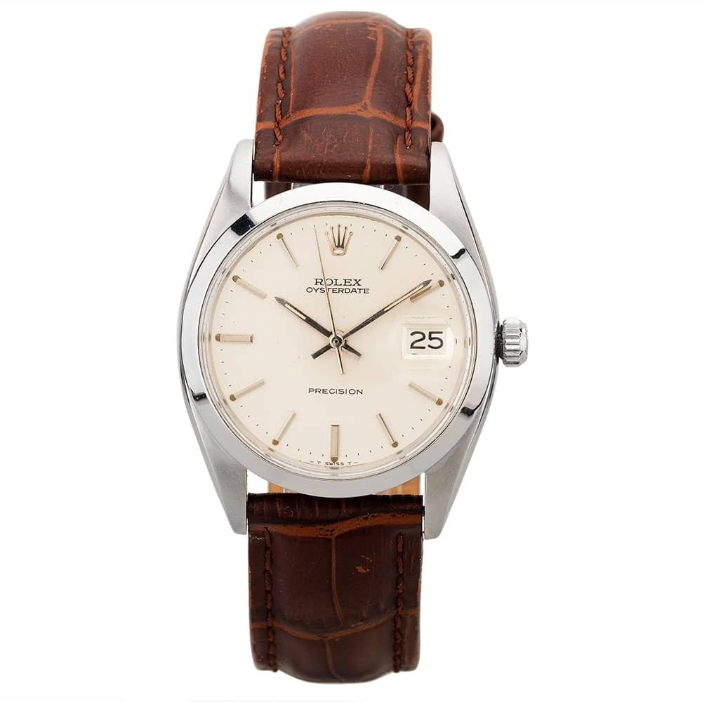 Pre-Owned Rolex Mens Oysterdate Watch