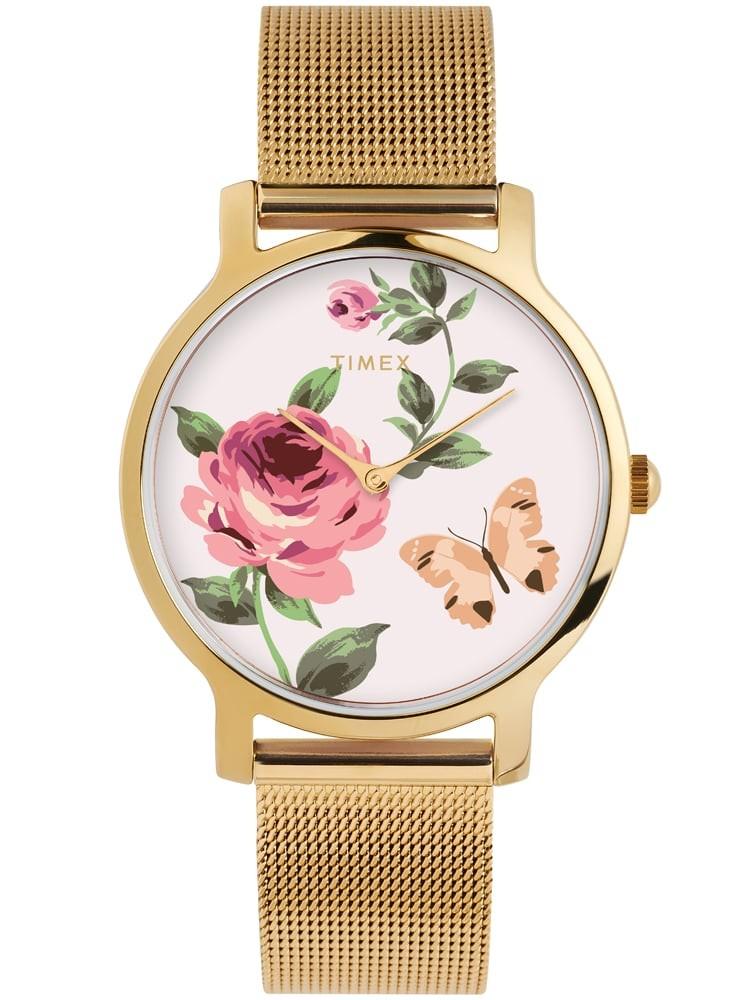 Timex Ladies Floral Watch