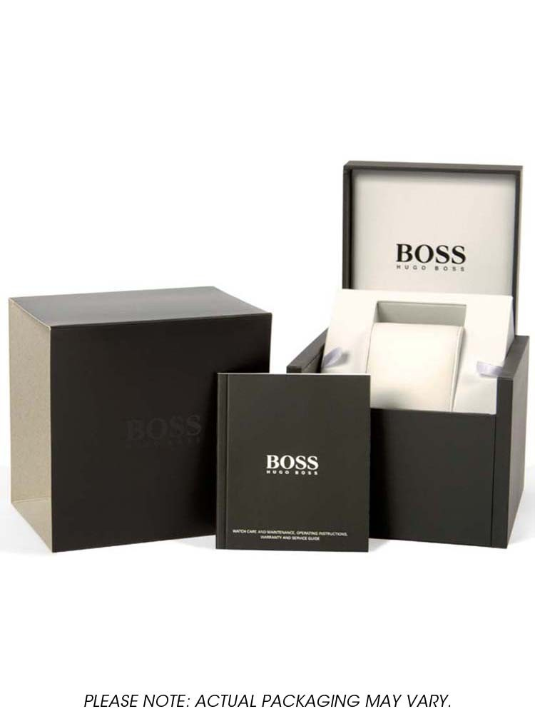 dfcfb7a4a899f Hugo Boss Mens Grand Prix Watch 1513478
