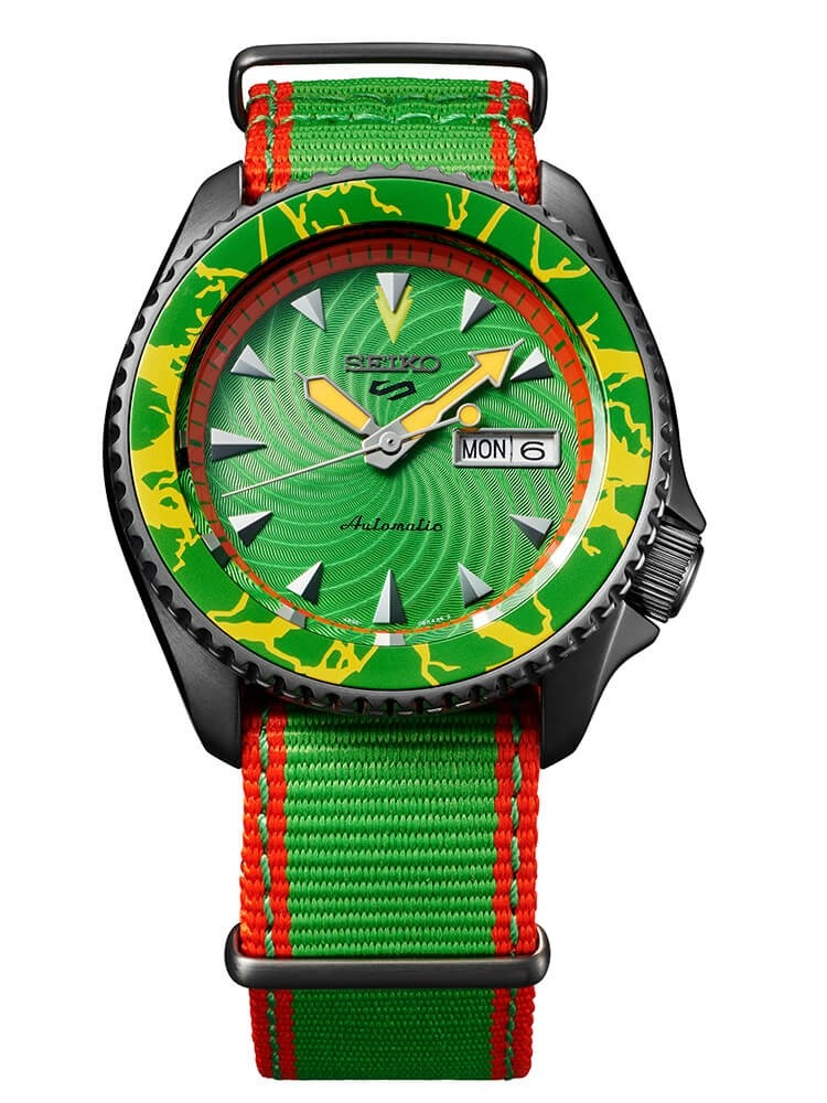 Seiko 5 Sports Limited Edition Street Fighter BLANKA Call Of The Wild
