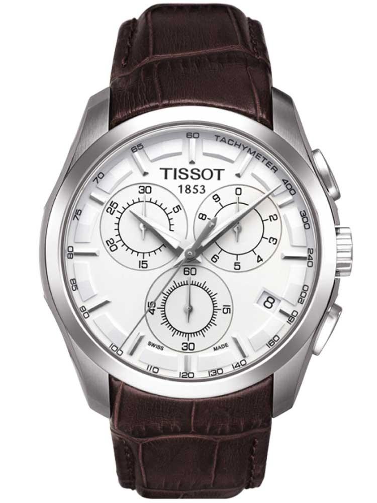 Tissot Mens T-Classic Couturier Strap Watch