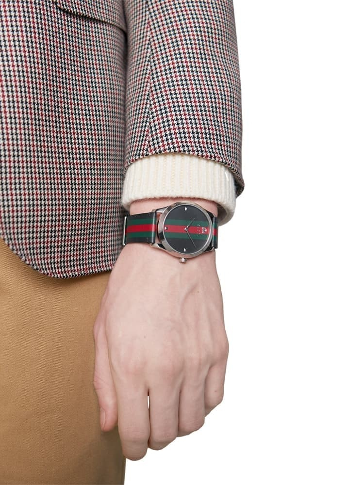 fd8b095c192 Gucci Mens G-Timeless Les Marche Des Merveilles Watch YA1264079