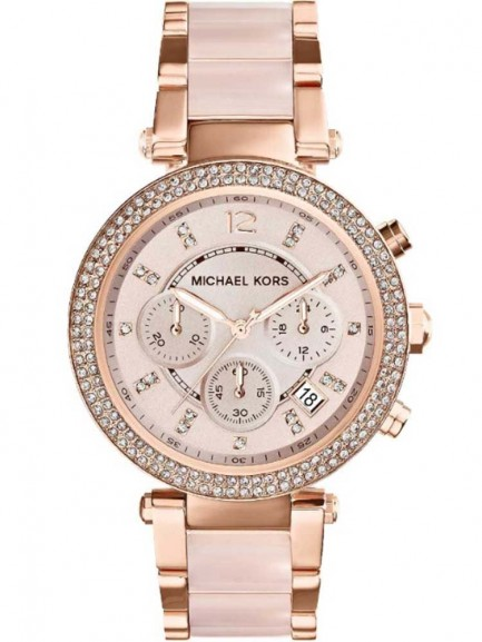 Michael Kors Ladies Blush Watch