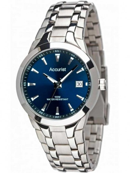 Accurist Mens Stainless Steel Watch