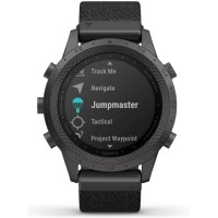 Garmin MARQ Commander Titanium Black Fabric Smartwatch 010-02006-10