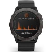 Garmin Fenix 6X Pro Solar Edition Black Rubber Strap Smartwatch 010-02157-21