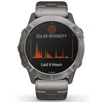 Garmin Fenix 6X Pro Solar Edition Titanium Bracelet Smartwatch 010-02157-24