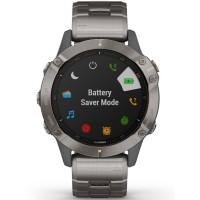 Garmin Fenix 6 Pro Sapphire Edition Grey Titanium Bracelet Smartwatch 010-02158-23